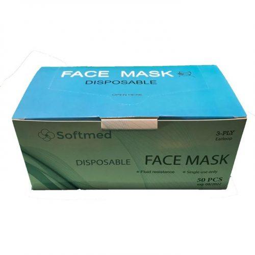 Disposable Face Masks - Sanitation Station